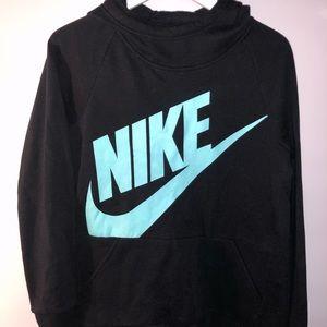 Nike Hoodie High Low Cut